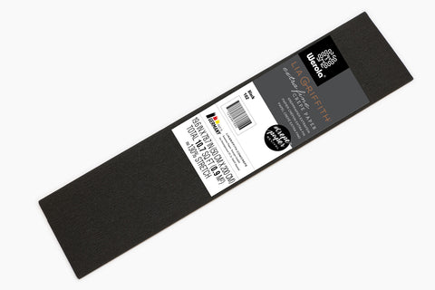 Single Pack - Extra Fine Crepe Paper – Black