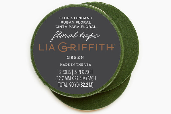 Floral Tape - Green 3-Pack