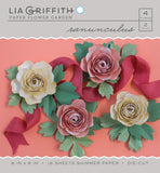 Ranunculus Frosted Paper Flower Kit