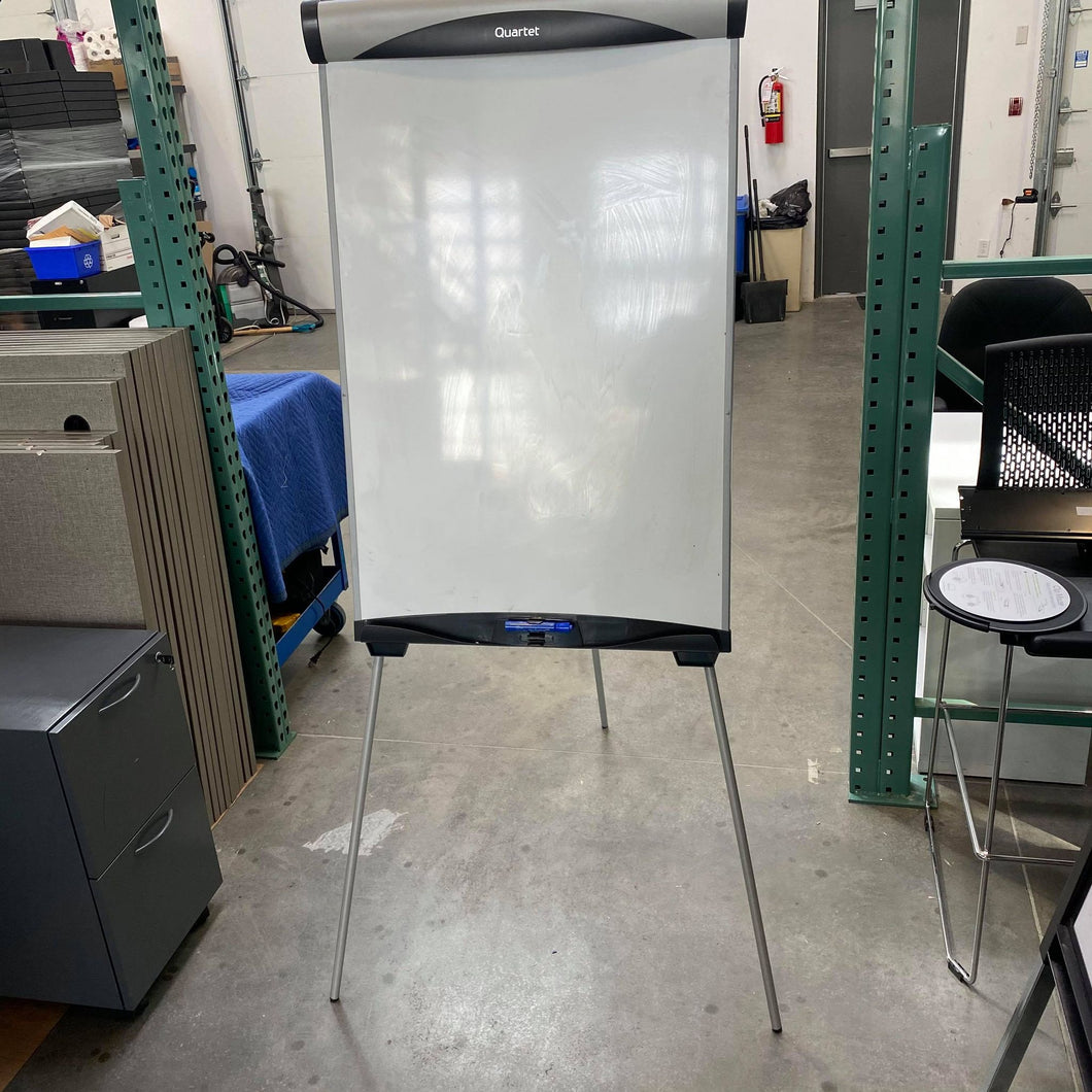 Used Quartet Adjustable Easel Whiteboard