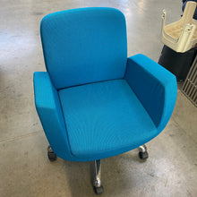 Load image into Gallery viewer, Used Blue Bucket-Style Lounge Chair