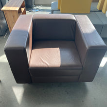 Load image into Gallery viewer, Used Boss Design Leather Club Chair