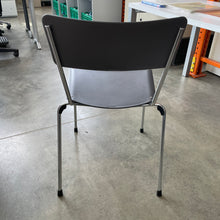 Load image into Gallery viewer, Used Black Stacking Chair