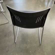 Load image into Gallery viewer, Used Black Stacking Chairs (Large Seat)