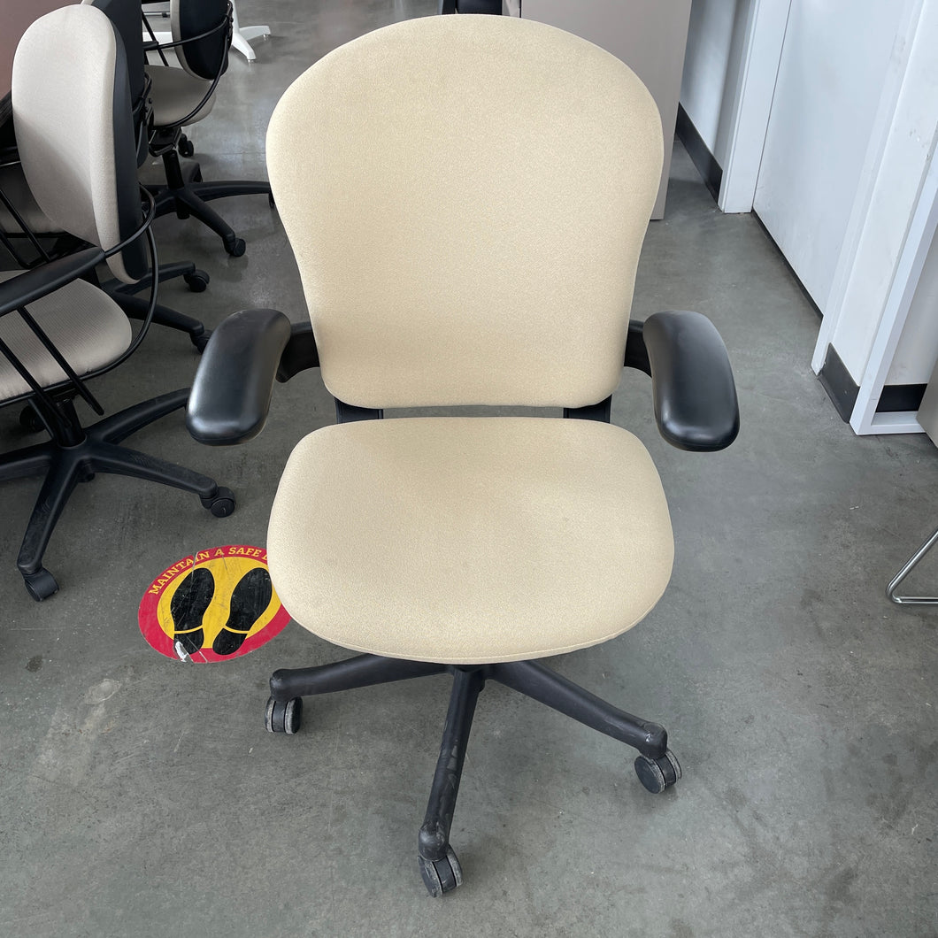 Used Herman Miller Beige Reaction Chair
