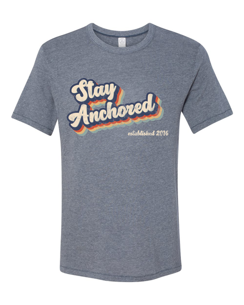 Stay Anchored Retro Tee