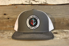 Trucker Hat (Charcoal/ White)