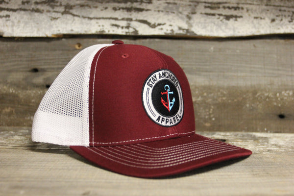 Trucker Hat (Cardinal/ White)