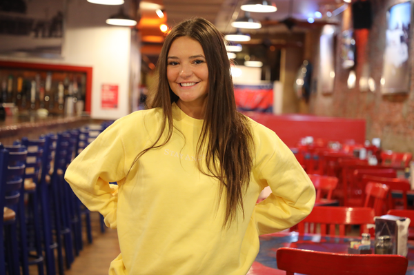 Yellow Crewneck Sweatshirt