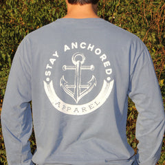 Long Sleeve Tee | Blue