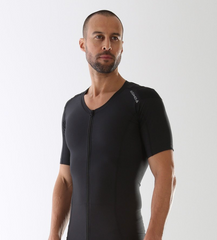 AlignMed Posture Shirt with Zipper allows for easier access for those with shoulder issues