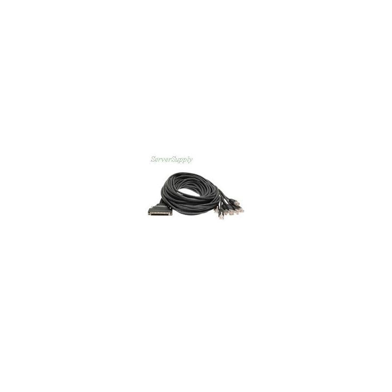 CISCO Cab-Octal-Async Systems 8 Lead Octal Cable 68Pin To 8 Male Rj45S