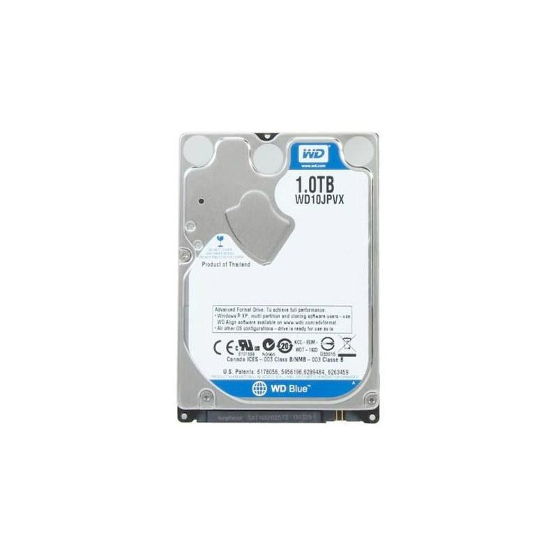 Western Digital New With Standard Mfg Warranty. Wd Blue 1Tb 5400Rpm Sata6Gbps 8Mb Buffer 2.5Inch 9.5Mm Hard Drives