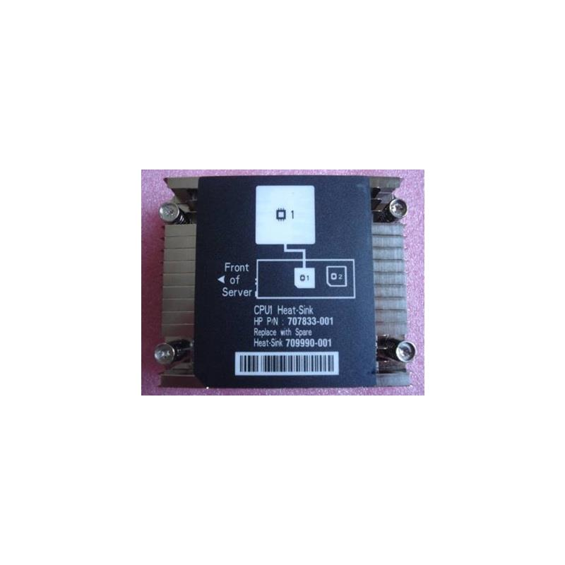 HP 709990-001 Vc Processor Heatsink Includes Alcohol Pad And Heatsink Installation Card For Proliant Sl200