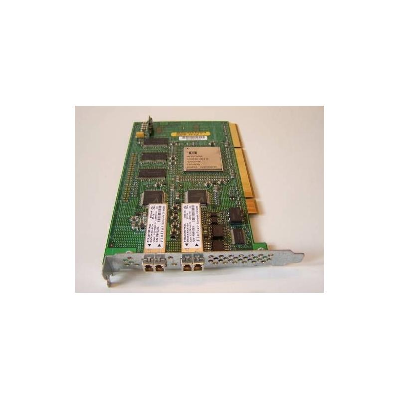 HP 542582-001 4Gb Dual Port Pcix Fibre Channel Host Bus Adapter With Standard Bracket Card Only