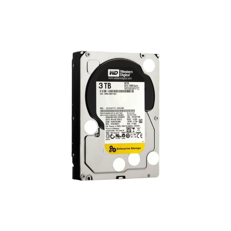 Western Digital New With Standard Manufacturer Warranty. Re 3Tb 7200Rpm Sata6Gbps 64Mb Buffer 3.5Inch Internal Hard Disk Drive