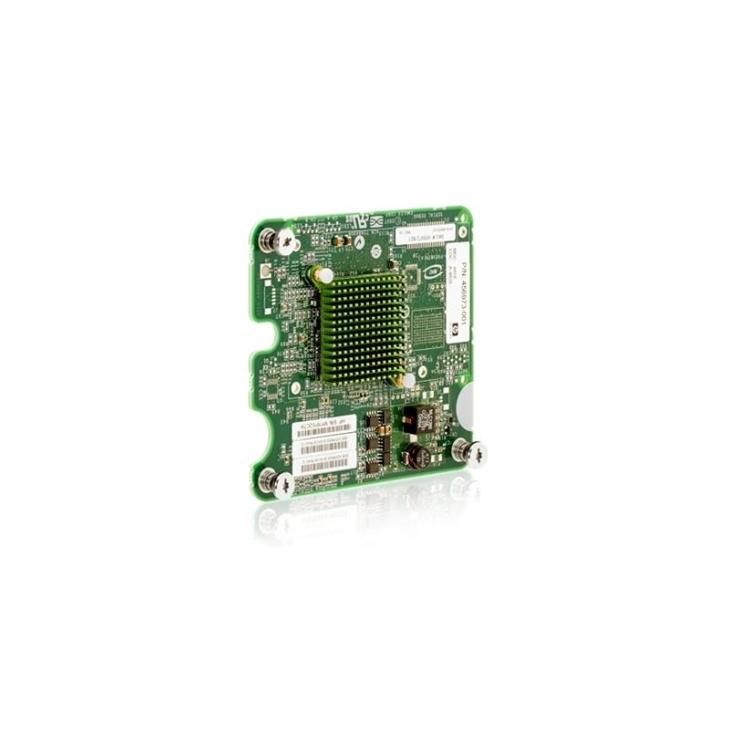 HP 456972-B21 Lpe1205 8Gb By S Dual Channel Pciexpress Fibre Channel Mezzanine Card Host Bus Adapter