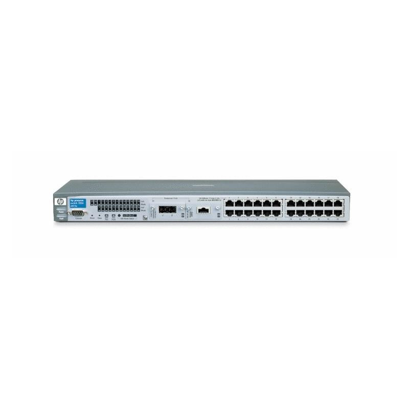 HP J4813A Procurve 2524 Ethernet 2000Mbps 24Port Managed Network Switch