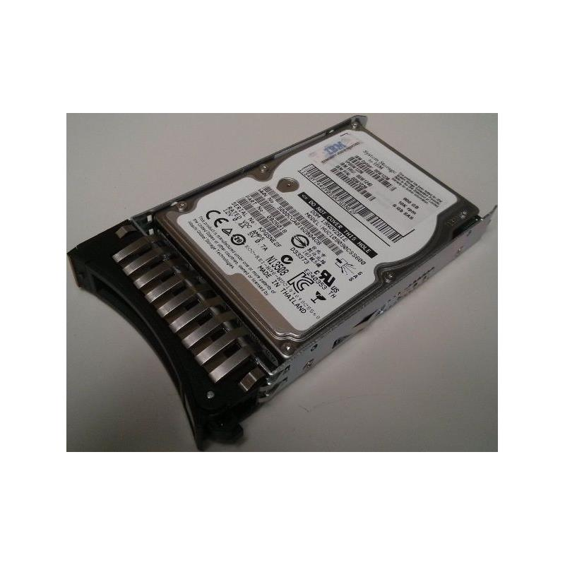 IBM 00W1236 900Gb 10000Rpm Sas 6Gbps 2.5Inch Hot Swap Hard Disk Drive With Tray For Exp3524
