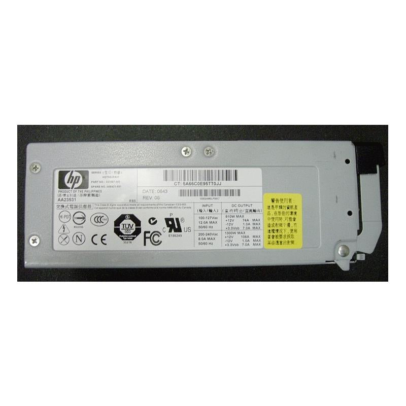 HP AA23531 1300 Watt Redundant Power Supply For Proliant Dl580 G3 G4 G5 Ml570 G3