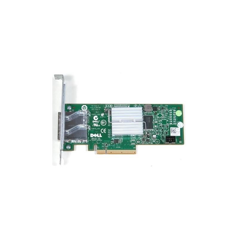 DELL 12Dnw  6Gb Dual Port (External) Pcie Sas Nonraid Host Bus Adapter With Standard Bracket Card Only