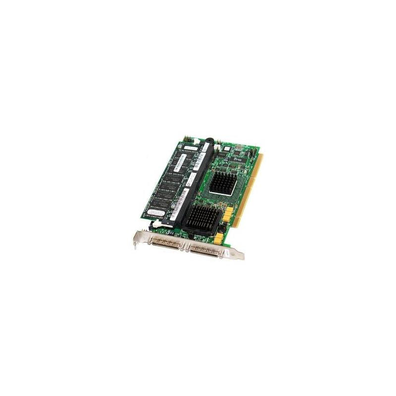 DELL 1U294 Perc4 Dual Channel Pcix Ultra320 Scsi Raid Controller Card With Standard Bracket