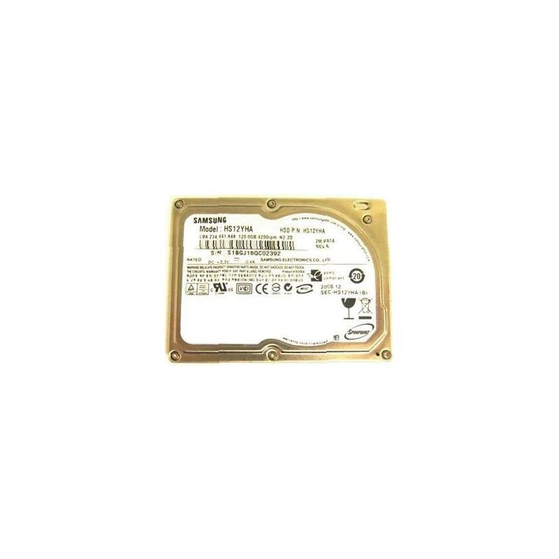 SAMSUNG Hs12Yha Spinpoint N3A 120Gb 3600Rpm 8Mb Buffer 1.8Inch Pata Zif Notebook Drive