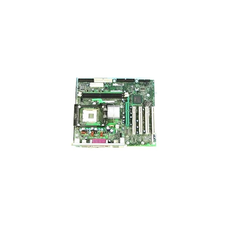 Dell 4P615 Matx Motherboard, Socket 478, 533 Mhz Fsb, 2Gb (Max) Ddr Memory Support, Agp 4X, For Dimension 4500 Desktop Pc
