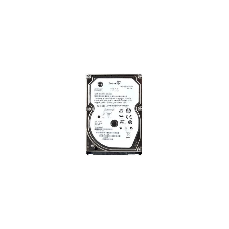 SEAGATE St9160310As Momentus 160Gb 5400Rpm Serial Ata300 (Sataii) 2.5Inch Form Factor 8Mb Buffer Internal Notebook Drive For