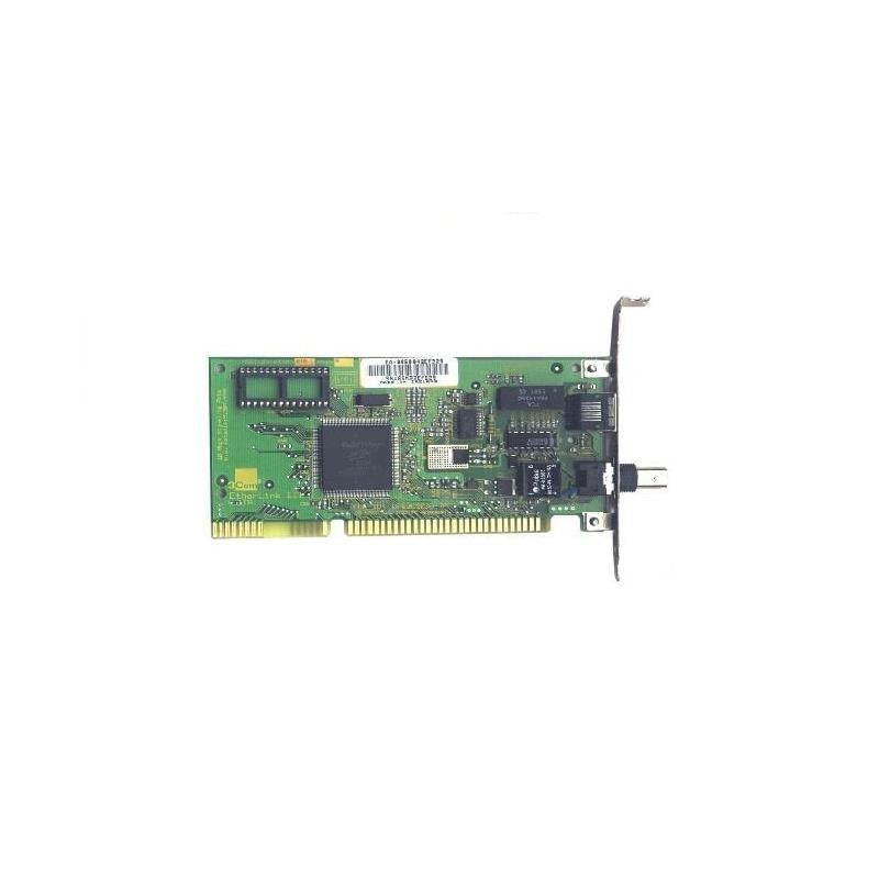 3COM Etherlink Iii Ethernet 10Mbps Rj45 Bnc Aui Isa 1Port Netwrok Interface Card