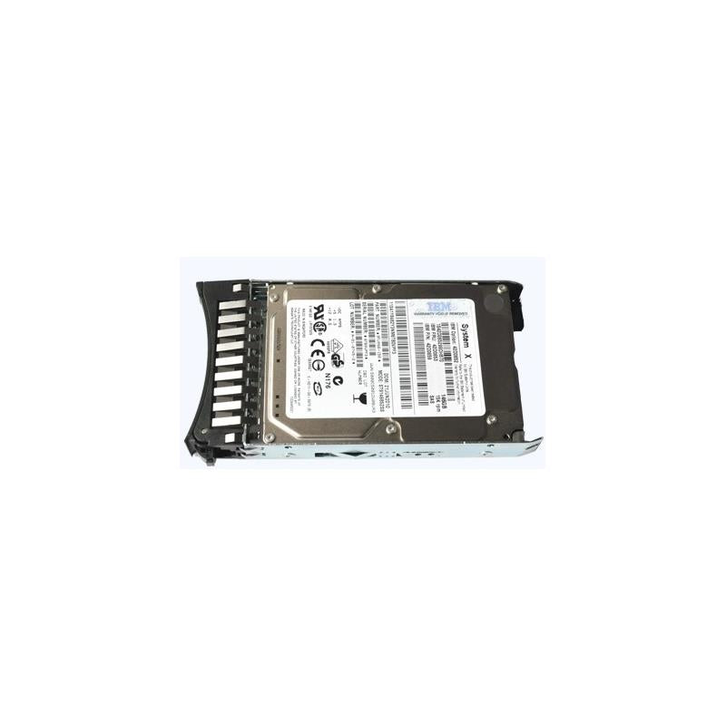 IBM 90Y8930  146Gb 15000Rpm Sas 6Gbps 2.5Inch Sff G2 Hot Swap Hard Drive With Tray