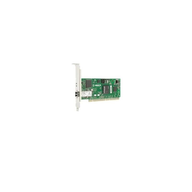 EMULEX Fc1020050-01B Lightpulse 2Gb Dual Ports Pcix Fiber Channel Host Bus Adapter With Standard Bracket Card Only