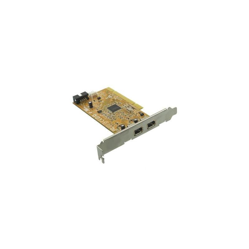 HP 515182-001 Dual Port Pcie Ieee 1394 Firewire Full Height Interface Card