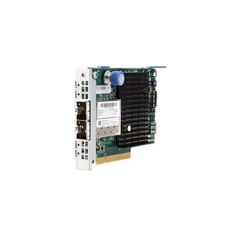 HP 727060-B21 Flexfabric 10Gb 2Port 556Flrsfp Adapter Pci Express V3.0 Gen 3 X8 Optical Fiber