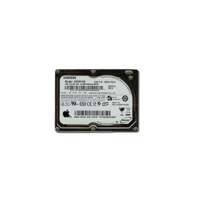 SAMSUNG Hs081Ha Spinpoint 80Gb 3600Rpm 2Mb Buffer 1.8Inch Pata Zif(Ultra Mobile)Hard Disk Drive