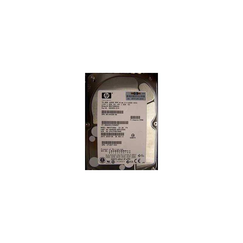 HP 350964-B21 300Gb 10000Rpm 3.5Inch Ultra320 Scsi 80Pin Hot Plugable Hard Disk Drive With Tray