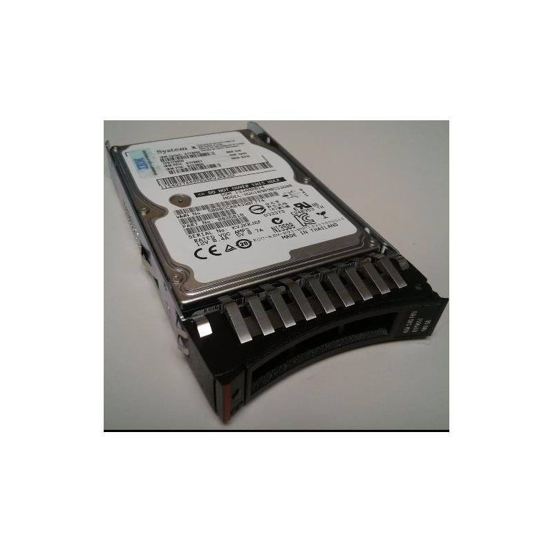 IBM 90Y9001 600Gb 10000Rpm 2.5Inch Sff Sas6Gbps Pi Formatted Hard Drive With Tray