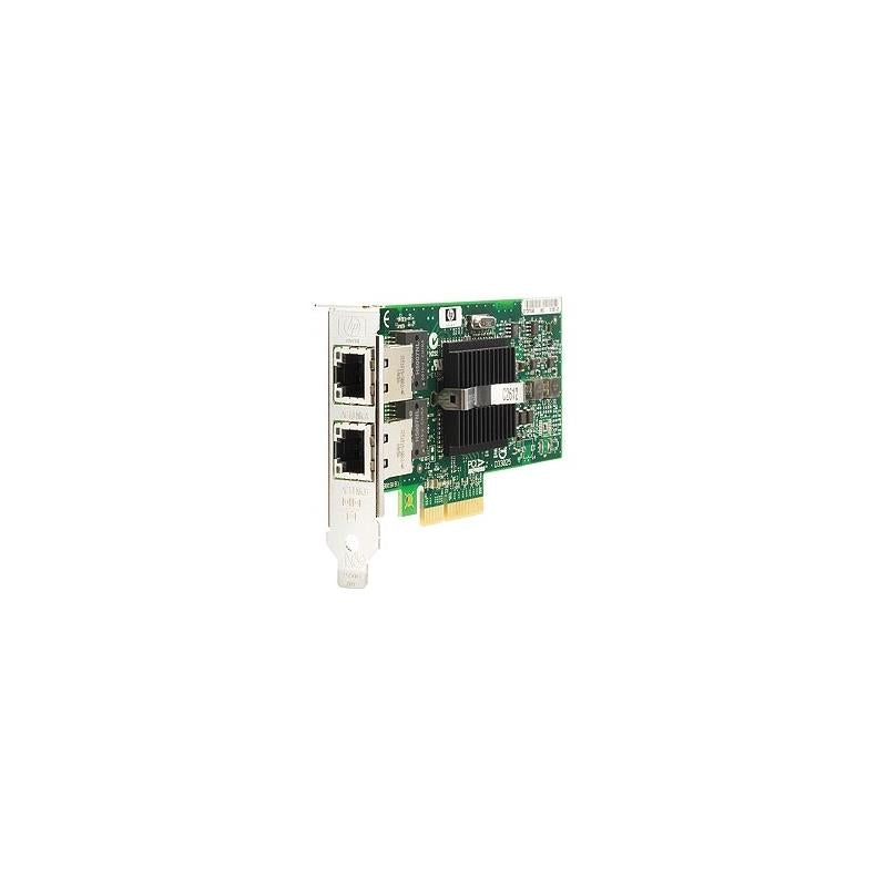 HP 412646-001 Nc360T Pci Express Dual Port Gigabit Server Adapter Network Adapter Pci Express X4 2 Ports