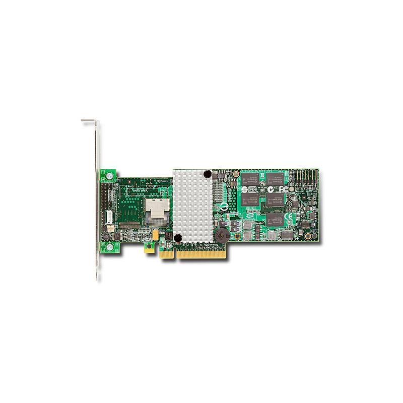 LSI 9260-4I  Logic 92604I 6Gb 4Port Internal Pcie Sas Sata Raid Controller With 512Mb Ddrii Cache