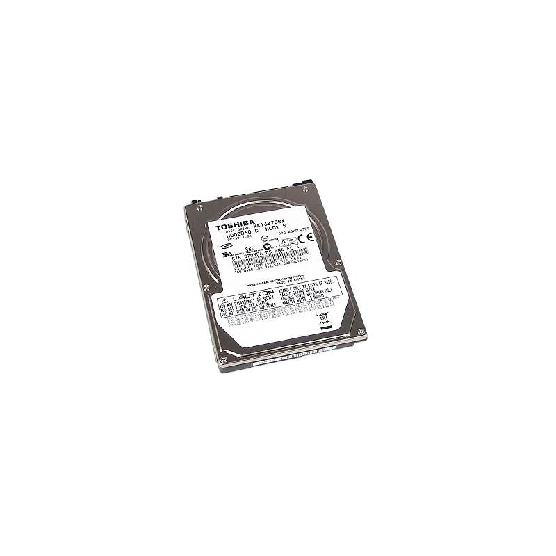 TOSHIBA Mk1637Gsx 160Gb 5400Rpm 8Mb Buffer Sataii 7Pin 2.5Inch Notebook Hard Disk Drive