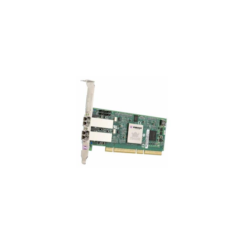 DELL 0M0251 Lightpulse 2Gb Dual Channel Pcix Fibre Channel Host Bus Adapter With Standard Bracket Card Only