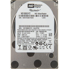 Western Digital New With Standard Mfg Warranty. Velociraptor 1Tb 10000Rpm Sata6Gbps 7Pin 2.5Inch 64Mb Buffer Notebook Drives