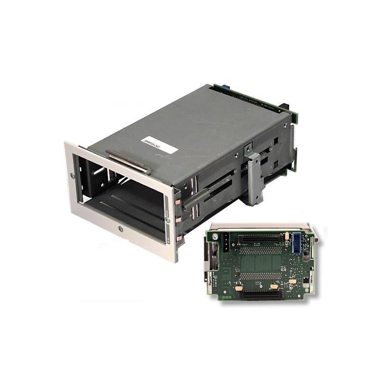HP 144087-001 2 Bay Lvd Internal Ultra2 Drive Cage With Scsi Simplex Backplane Board Compatible For Proliant