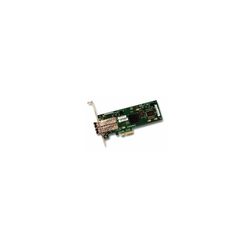 LSI 7204Ep-Lc Logic 4Gb Dual Ports Pci Express Low Profile X8 Fibre Channel Host Bus Adapter. No Cable With Low Profile Bracket