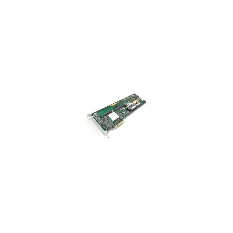 HP 411064-B21 Smart Array P400 8 Channel Pci Express X8 Sas Low Profile Controller With 512Mb Bbwc No