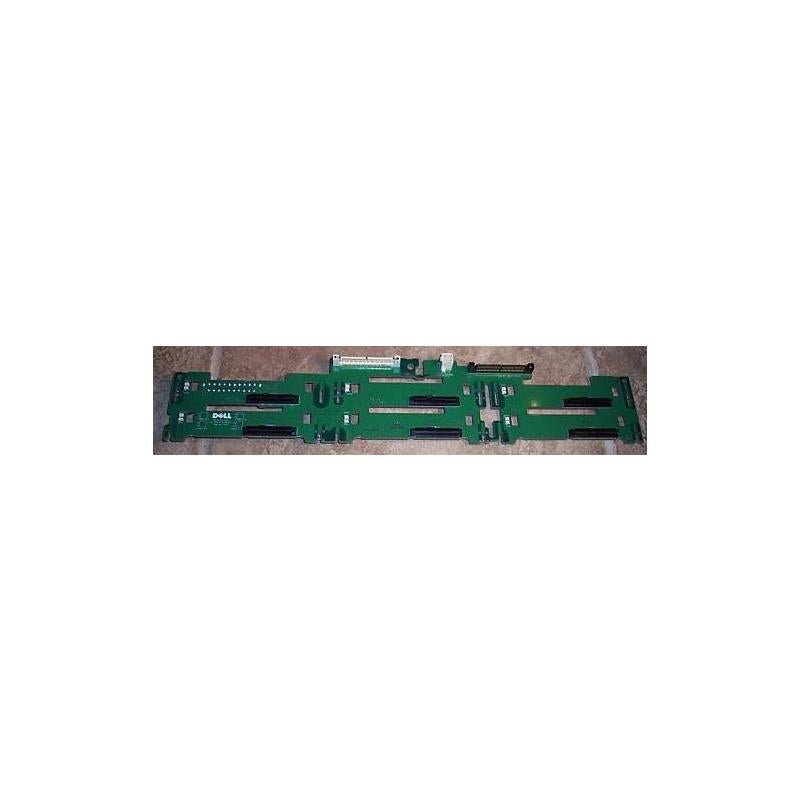DELL H6179  6X Sas Hdd Backplane Board For Poweredge 2950