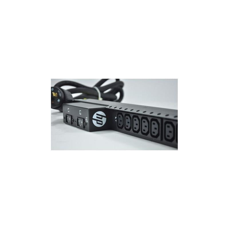 HP 723223-001 4.9Kva 208 Volt 20 Outlet Na By Jp Basic Power Distribution Unit For Proliant Dl380E Gen8 12 Lff