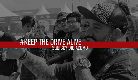 Squiggy DiGiacomo // KEEP THE DRIVE ALIVE