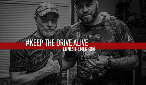 Ernest Emerson // KEEP THE DRIVE ALIVE