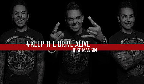 Jose Mangin // KEEP THE DRIVE ALIVE